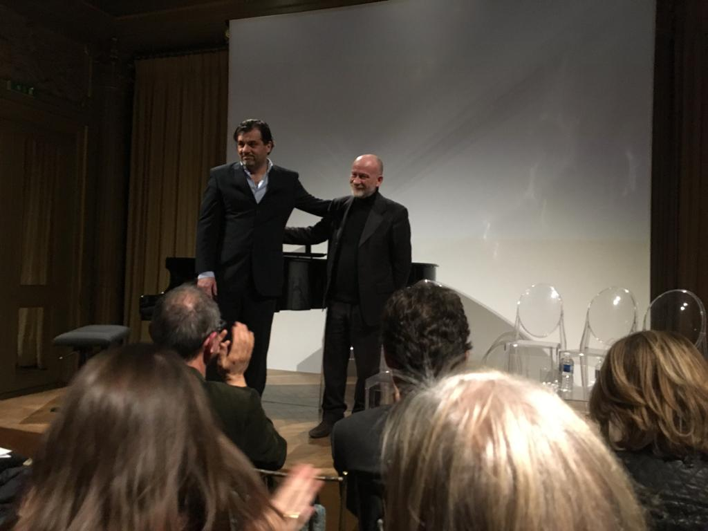 Paolo Cavallone and Cristiano Morandini Italian Institute of Culture, Paris - March 22, 2019