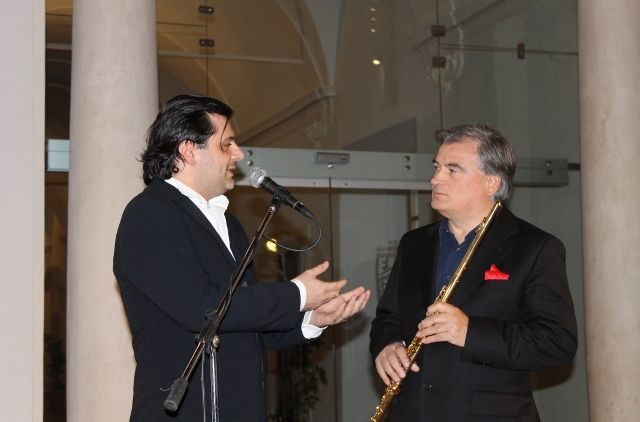 With Roberto Fabbriciani
