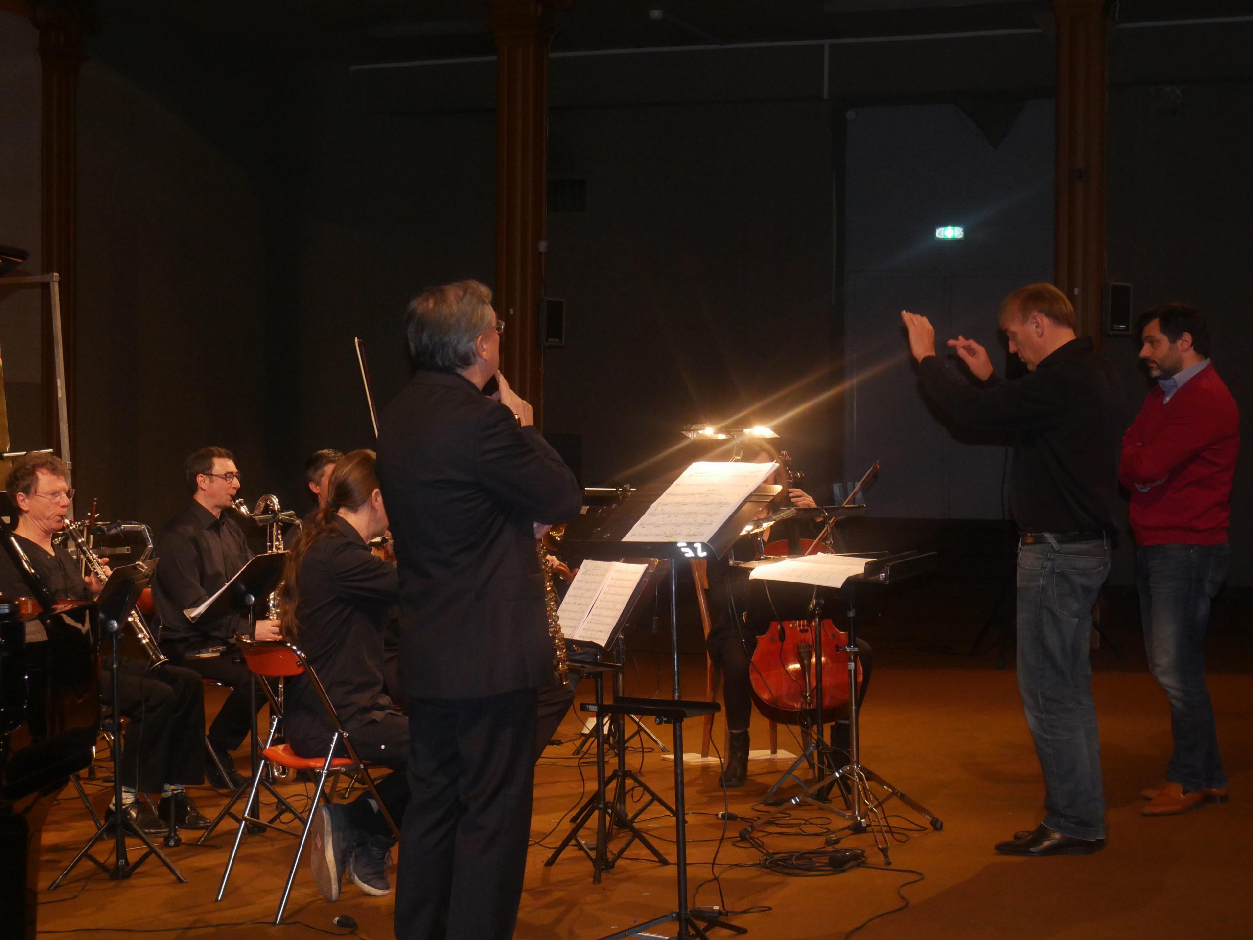 Horos with the Ensemble Orchestral Contemporain, cond. Daniel Kawka