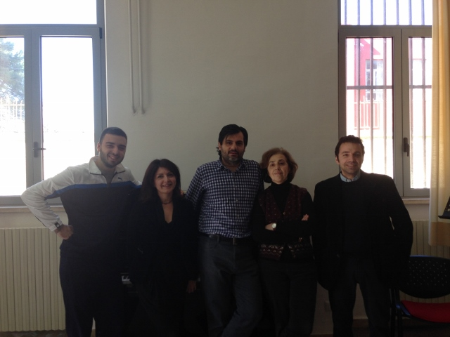Teaching at Conservatorio Respighi in Latina (Italy)
