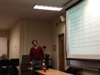 Lecturing in Hartford