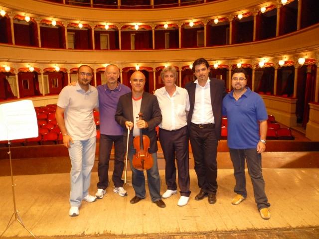 Making Ritratto di un compositore, with Donato Tulliani and Luca Sanzo