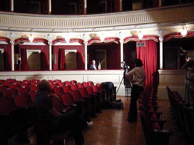 shooting Paolo Cavallone, ritratto di un compositore (Rai Trade, 2009)