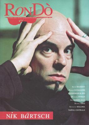 Paolo Cavallone copertina Rondo 2007