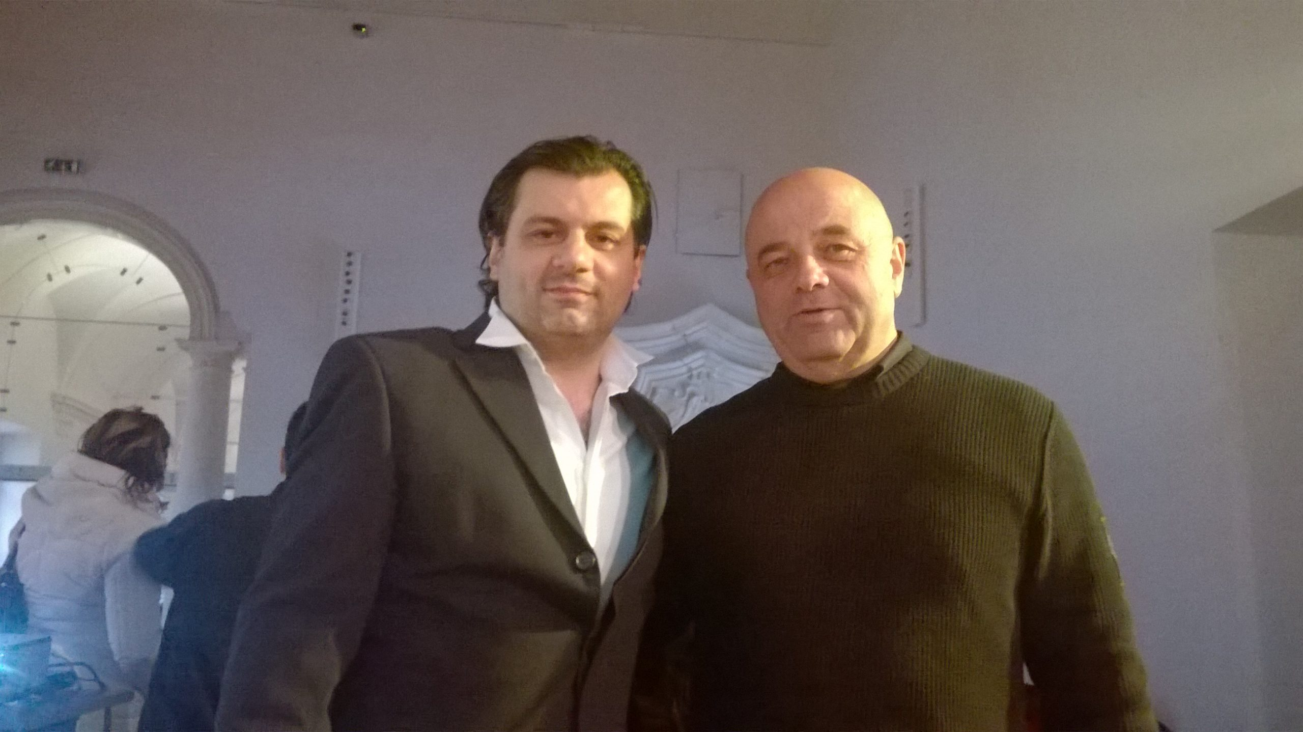 Paolo Cavallone and Antonio D'Augello