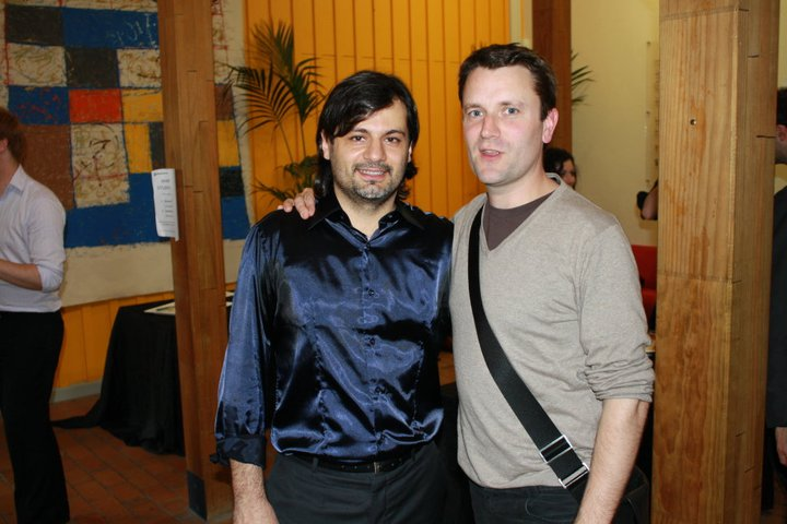 with composer Michael Norris