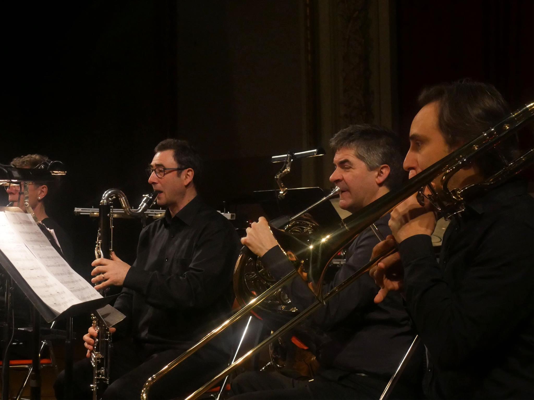 Playing Horos - Ensemble Orchestral Contemporain