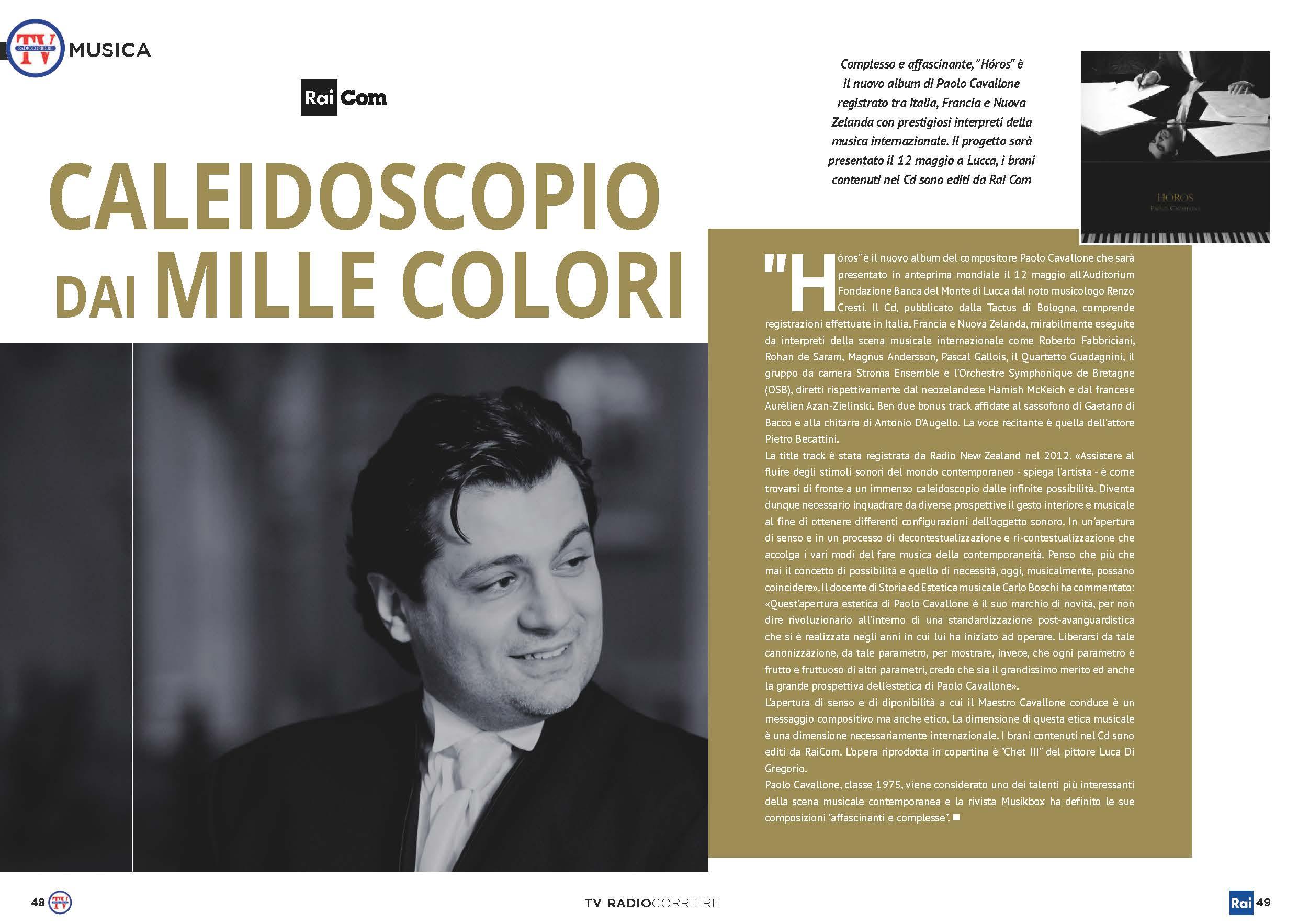 RadiocorriereTV n.19, 14 maggio 2018