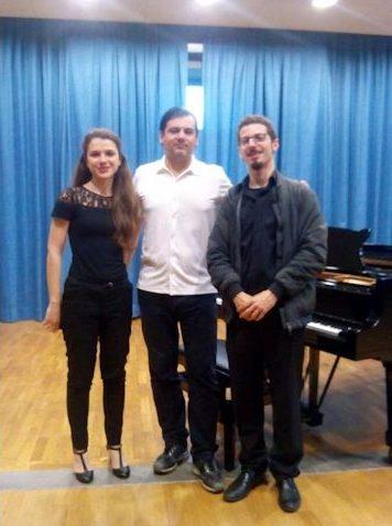 with Silvia D'Augello and Giuseppe Gentile - (Dis)tensioni - Latina 2014