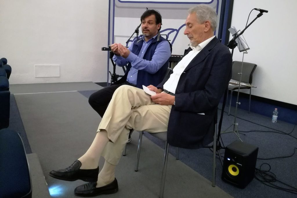 "with Renzo Cresti, presentation of ""Hóros"" - May 12, 2018"