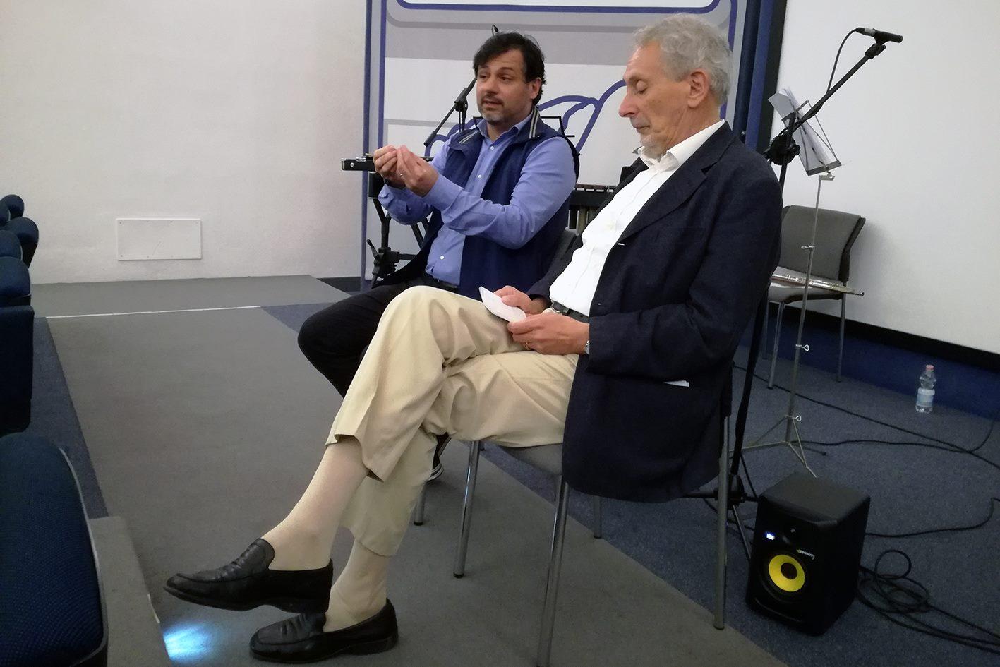"with Renzo Cresti, presentation of ""Hóros"" - May 12, 2018"