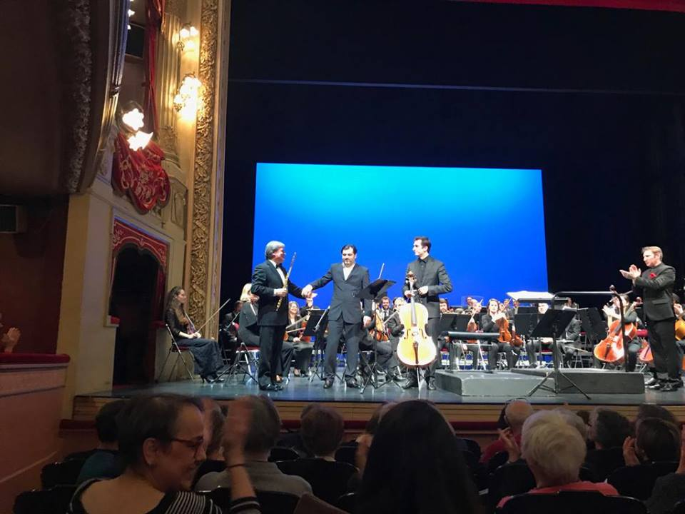 Metamorfosi d'amore – French Premiere with the Orchestre Symphonique de Bretagne in Rennes